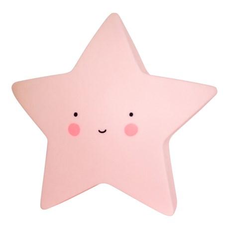 Stjärnlampa – A Little Lovely Star Light Rosa
