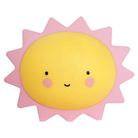 Dekorlampa – Sol / Måne Sol