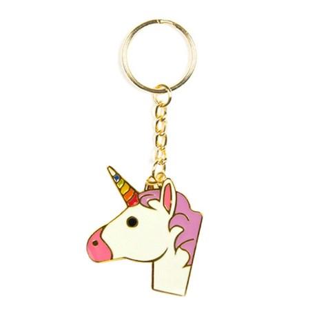 Nyckelring – Emoji Unicorn
