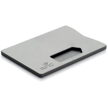 RFID Korthållare – Anti-Skimning Grå