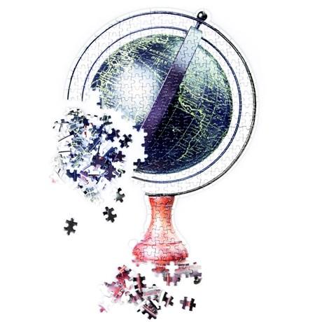 Pussel – Slow Puzzle Jordglob