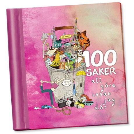 Fyll-i-bok – 100 saker att göra innan jag dör Rosa