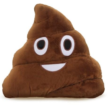 Kudde – Emoji Bajs
