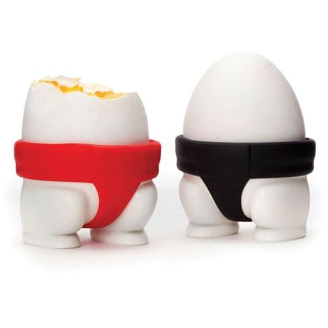 Äggkopp – Sumobrottare (2-pack) Röd