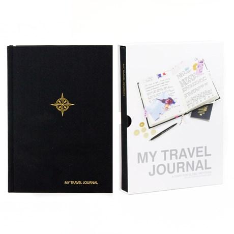 My Travel Journal – Resedagbok Svart