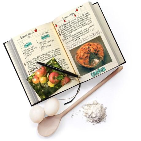 My Family Cookbook – Personlig kokbok Svart