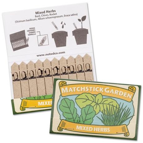 Planteringsstickor – Matchstick Garden Örtmix