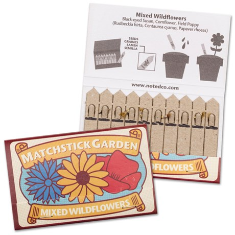 Planteringsstickor – Matchstick Garden Vilda blommor