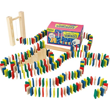 Dominorally – Ridley´s Tumble Down Dominoes Röd