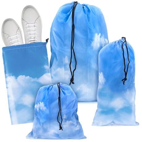 Resepåsar – Moln (4-pack) Blå