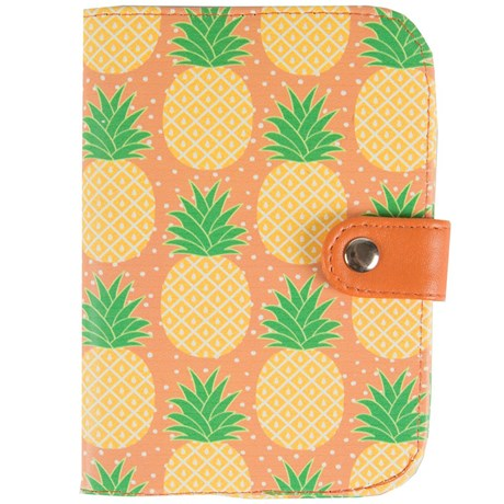 Resetillbehör – Ananas Passfodral