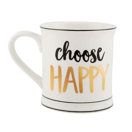 Mugg – Choose Happy Vit