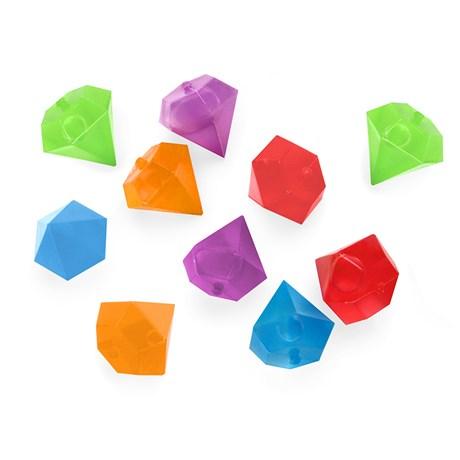 Iskuber av plast – Diamanter Diamanter