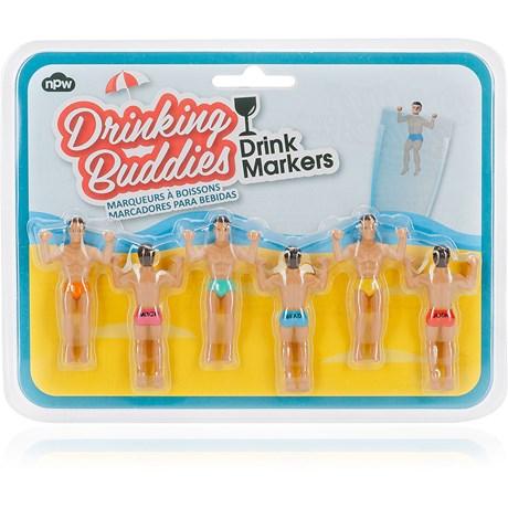 Glasmarkörer – Hunkar Drinking Buddies