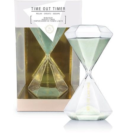 Timglas - We Live Like This, Mintgrön