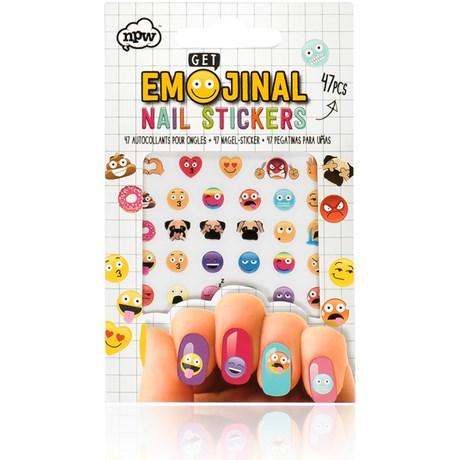 Nail Art – Nagelklistermärken Emoji Multi