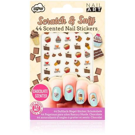 Nail Art – Nagelklistermärken med doft Choklad Multi