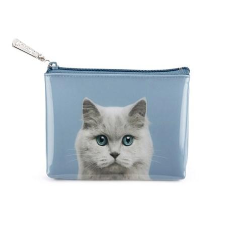 Necessär – Katt blå Liten