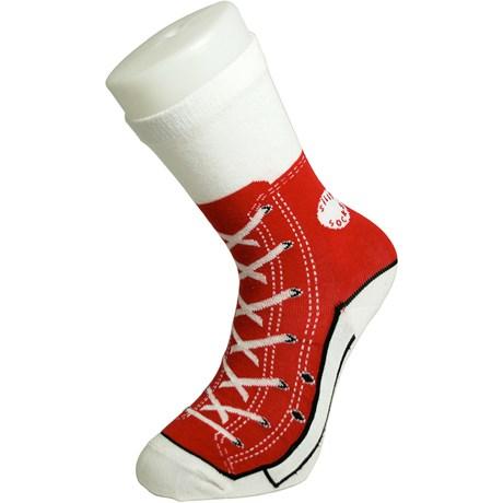 Strumpor – Sneakers Röd