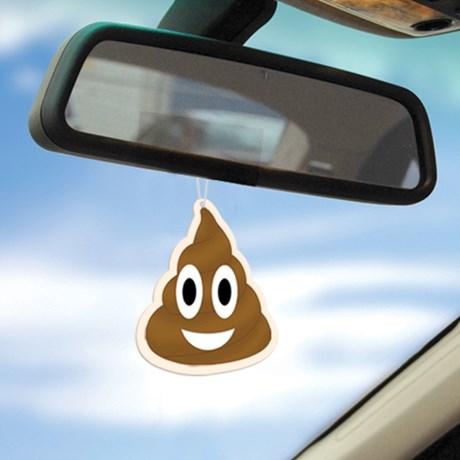 Air freshener – Emoji Poop (3-pack) Brun