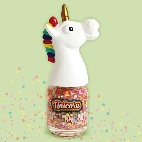 Confetti nagellack – Enhörning Multi