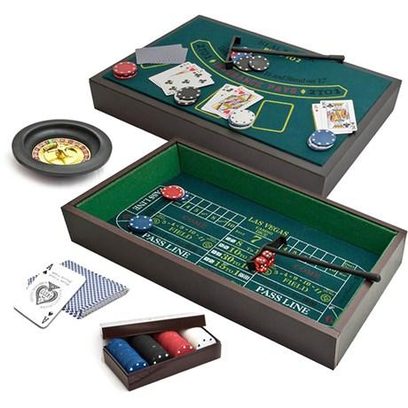 3-i-1 Spelbord – Vegas Nights Grön