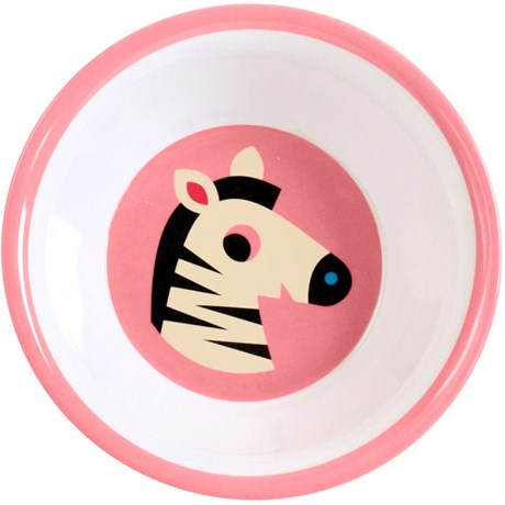 Melaminskål – Djur Zebra