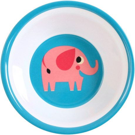 Melaminskål – Djur Elefant