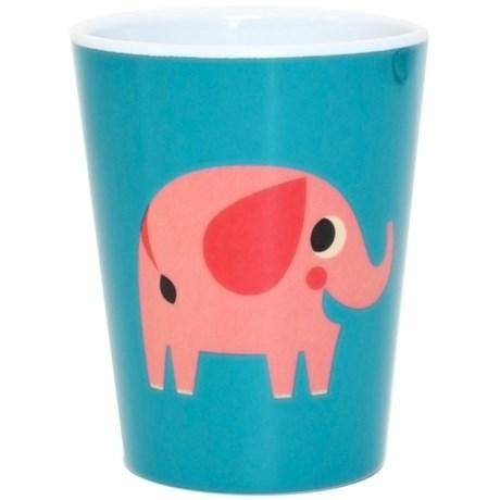 Melaminmugg – Djur Elefant
