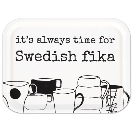 Bricka – Swedish Fika Vit