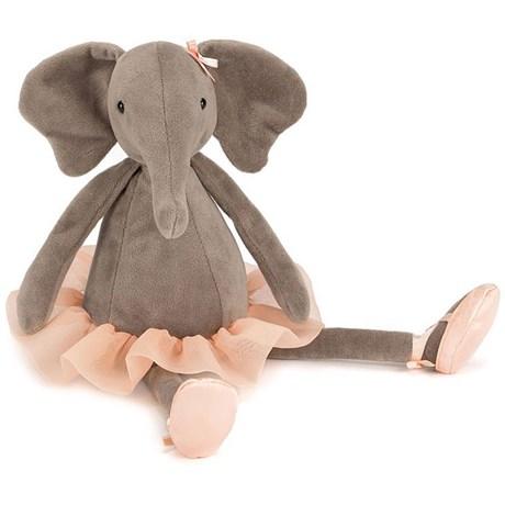 Gosedjur – Ballerina elefant & gris Elefant