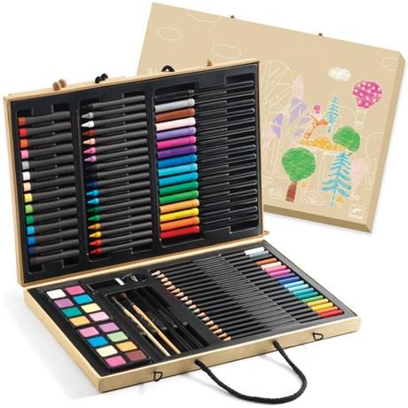 Stor målarlåda (88 delar) Multi