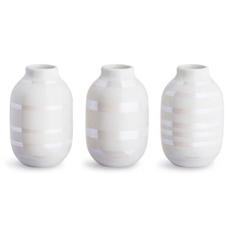 Omaggio vas, miniatyr (3-pack) - Kähler, Pärlemor