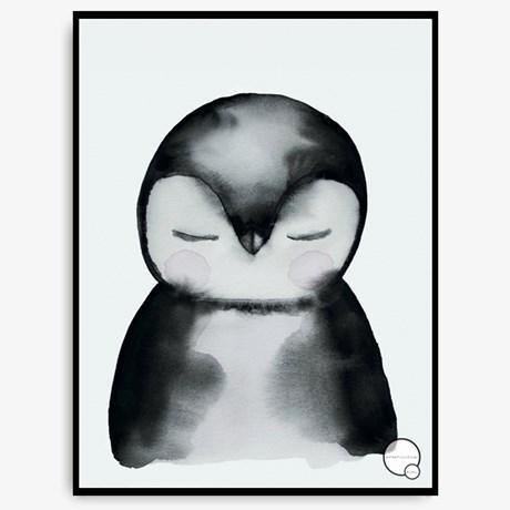 Poster – Rådjur Pingvin Kanin Penguin