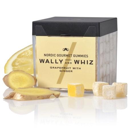 Vingummi med grapefrukt – Wally & Whiz Grapefrukt med ingefära