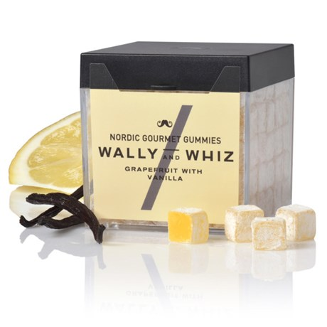 Vingummi med grapefrukt – Wally & Whiz Grapefrukt med vanilj