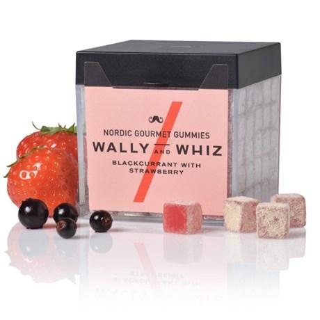 Vingummi med svartvinbär – Wally & Whiz Svartvinbär med jordgubb