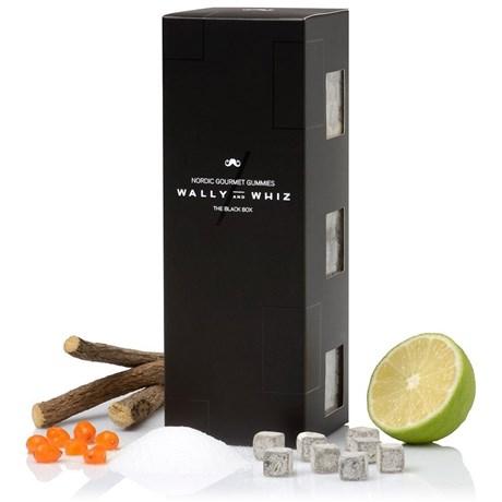 Vingummi The Black Box – Wally & Whiz (3-pack) Svart