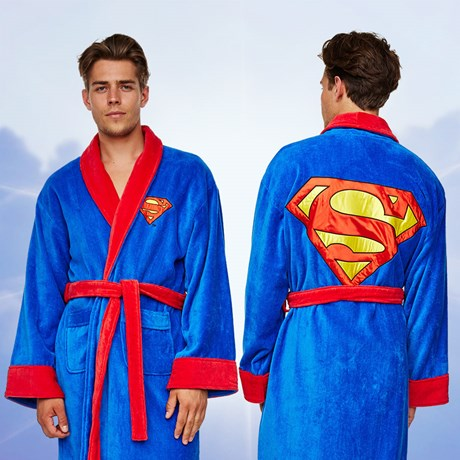 Morgonrock – Superman Fleece
