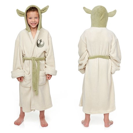 Yoda Star Wars – Morgonrock för barn Medium 6-8 år