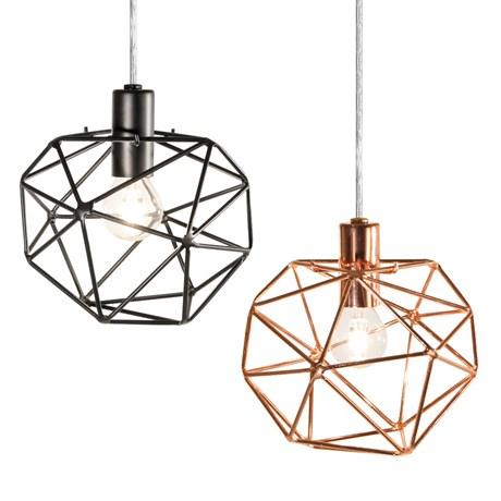 Fönsterlampa – Diamond, ø 20 cm