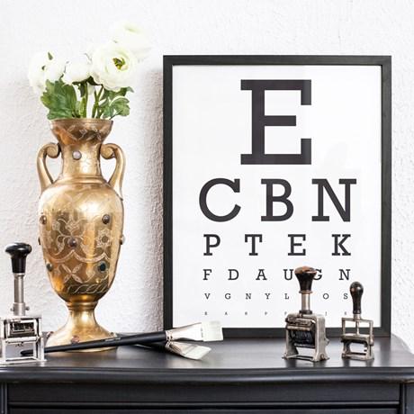 Poster – Optikertavla