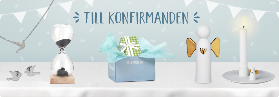 Konfirmationspresenter!