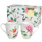 Muggar Blushing Birds, Vit - Pip Studio (2-pack)