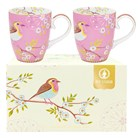 Mugg Early Bird, Rosa - Pip Studio (2-pack)