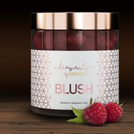 Recension av Mandel med hallon - BLUSH