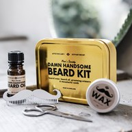 Recension av Skäggvård - Damn Handsome Beard Kit