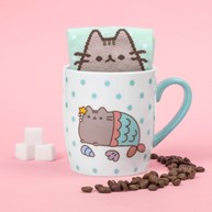 Strumpor i mugg - Pusheen, Mermaid