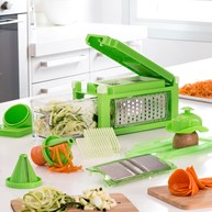 Mandolin & Spiralizer set (8-i-1)