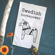 Handduk - Swedish horsepower (30x50)